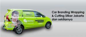 Car Branding Wrapping & Cutting Stiker Jakarta dan Sekitarnya